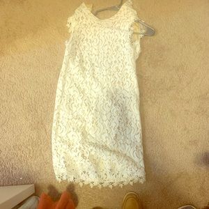 Francesca's backless dress